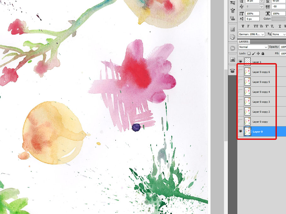 How to Create Vector Watercolor Texture and Elements in