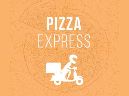pizza free cartoon flyer template