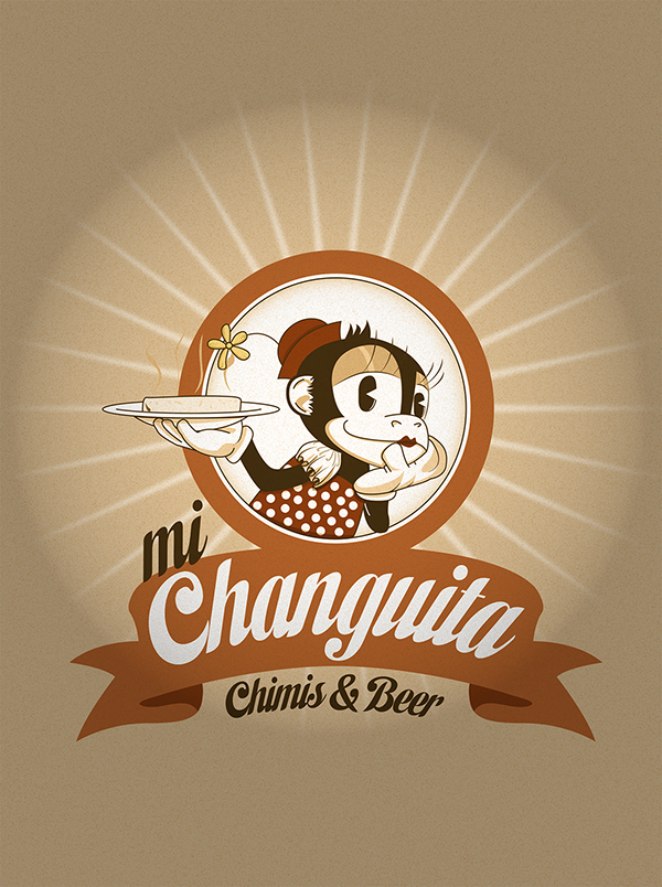 vintage inspired art chanquita