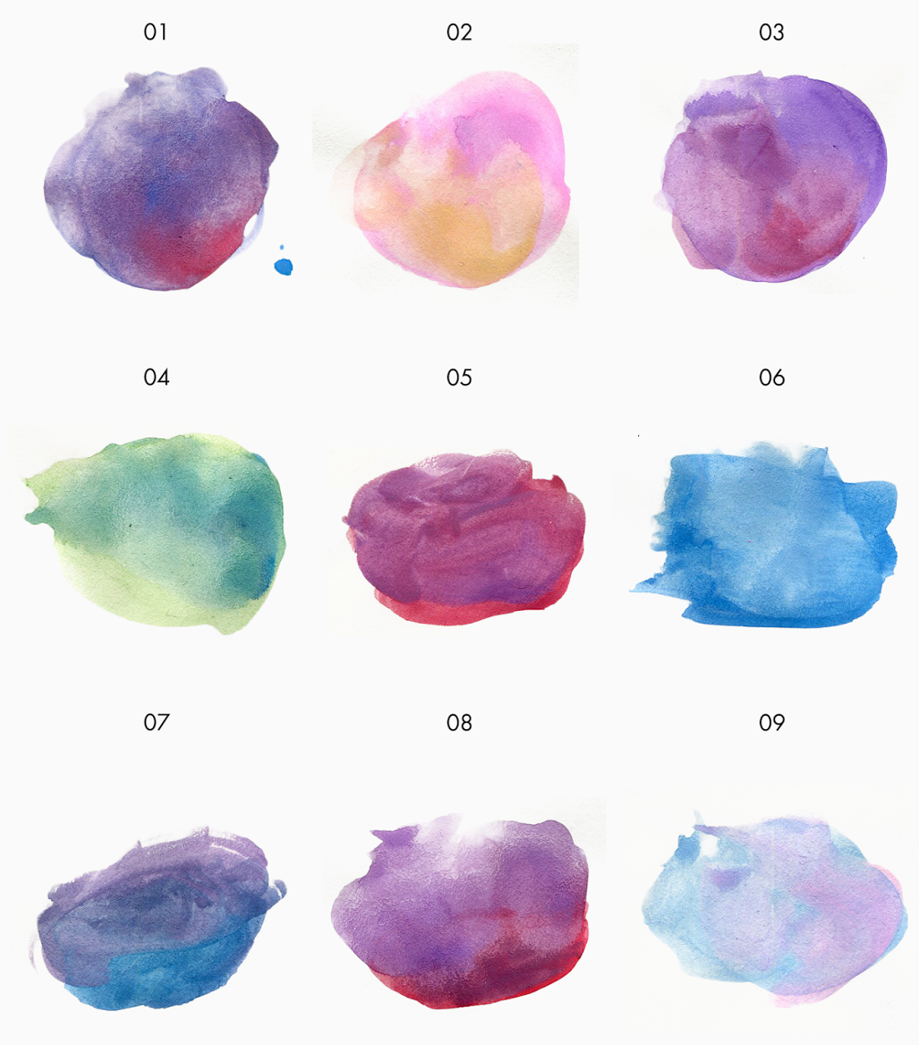 FREE WATERCOLOR TEXTURE KIT
