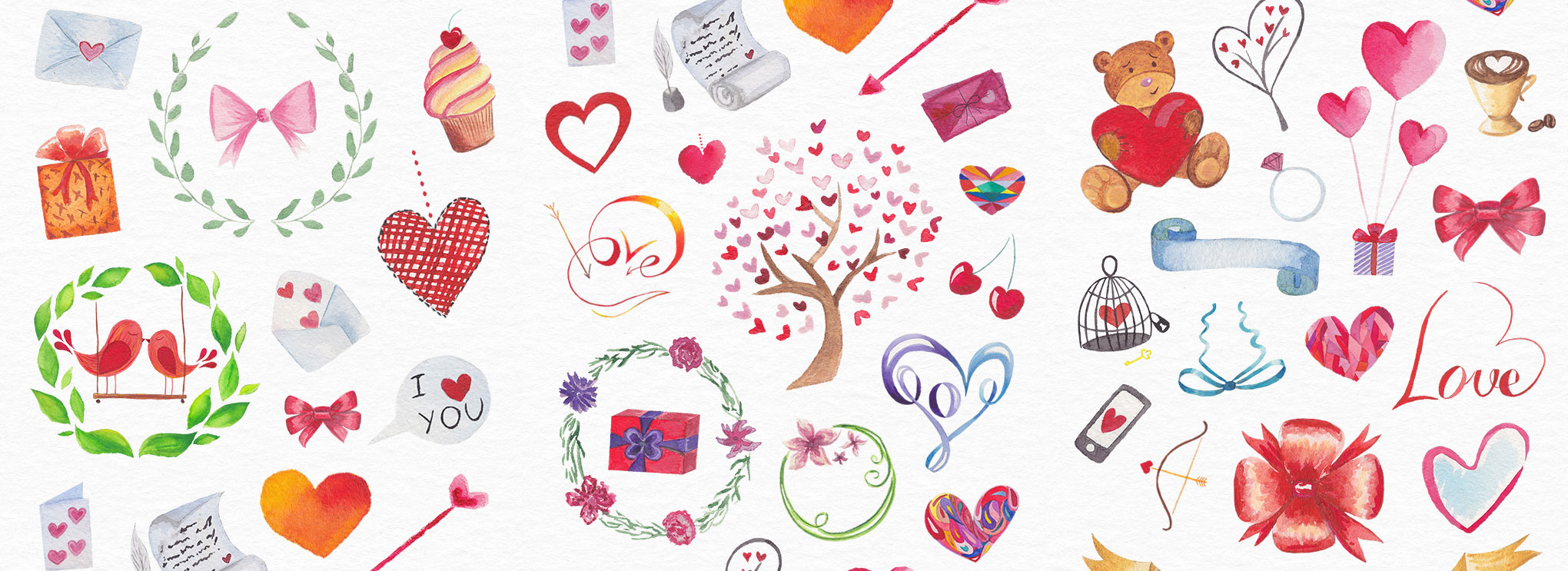 Free Watercolors: Backgrounds, Patterns, Objects, Logos | GraphicMama