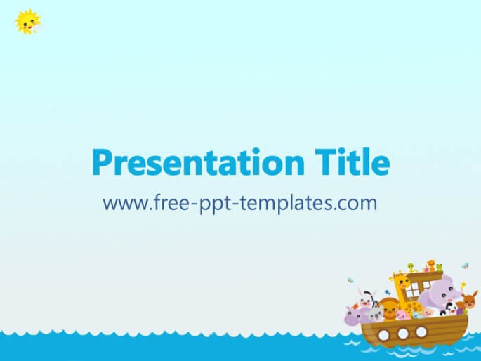 50 free cartoon powerpoint templates with characters illustrations noahs ark free powerpoint template toneelgroepblik Image collections