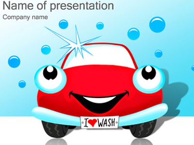 carwash powerpoint template