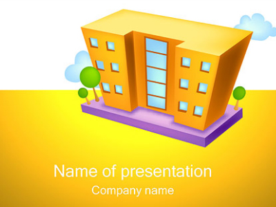 building-powerpoint-presentation-template