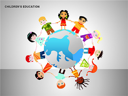 Children Education PowerPoint Template
