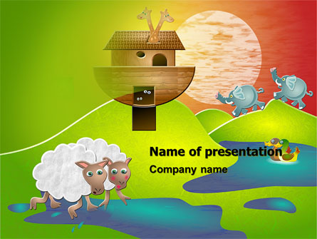 Noah's Ark PowerPoint Template