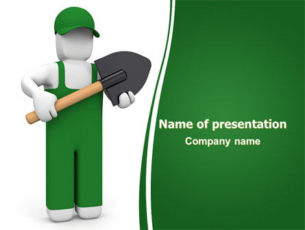 Digger PowerPoint Template