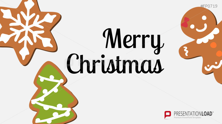 Christmas Cookies PowerPoint Template