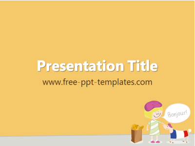french-ppt-template