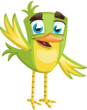 cute-vector-sparrow-waving