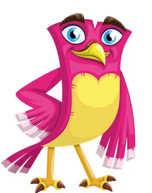 confident-handsome-bird