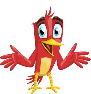 happy-red-bird