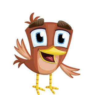 brown-bird-sparrow-vector
