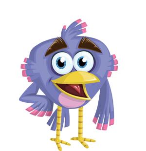 purple-bird-vector