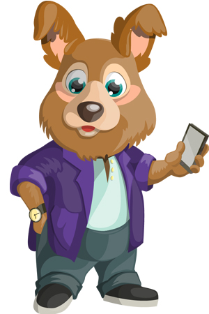 cool-chubby-dog-with-smartphone