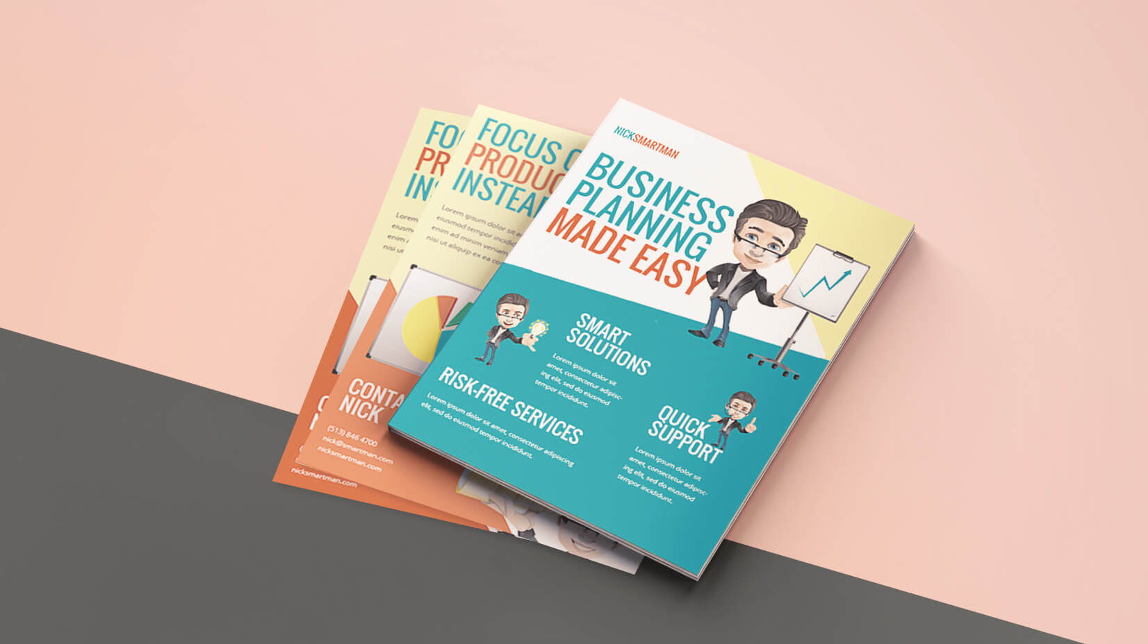How To Create A Cartoon Flyer Template For Your Business