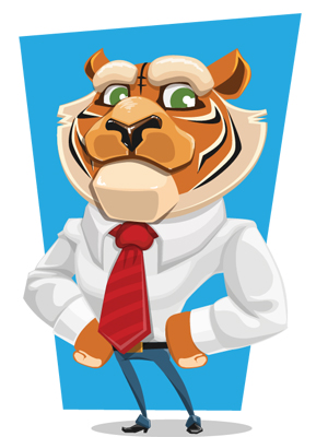 business-tiger