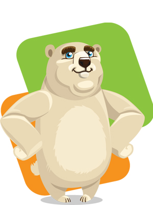white-bear-free-vector