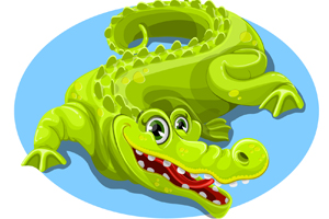 vector-crocodile-free