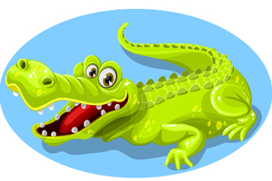crocodile-vector-cartoon