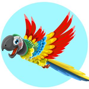 vector-parrot