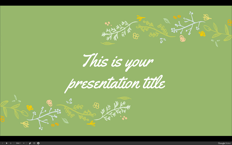 25 different slides in 16 9 layout  – Beautiful floral illustrations  –  Available as a Google Slides theme and a PowerPoint template. bad89831c