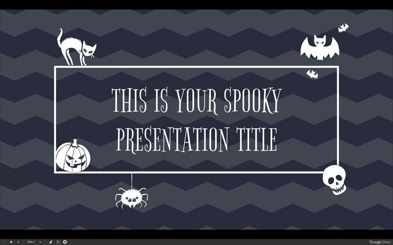50 free cartoon powerpoint templates with characters illustrations spooky powerpoint template with halloween characters toneelgroepblik Images