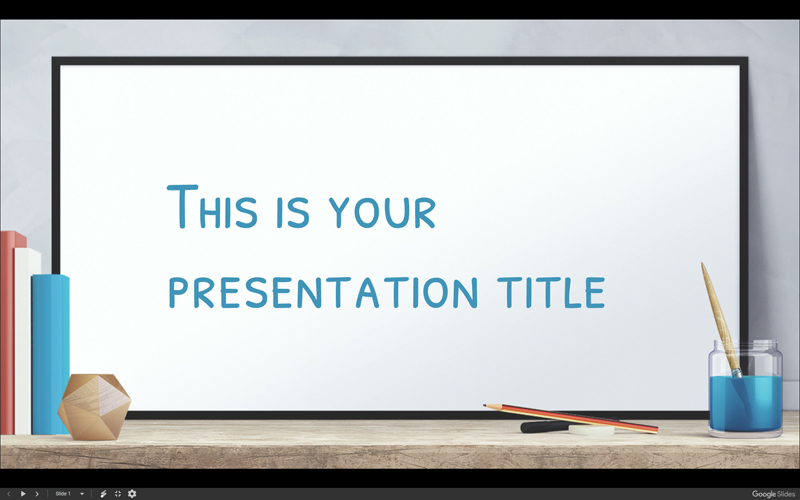 50 free cartoon powerpoint templates with characters illustrations whiteboard over desk free powerpoint template toneelgroepblik Gallery
