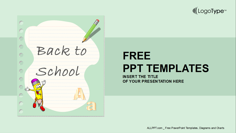 back to school powerpoint presentation template
