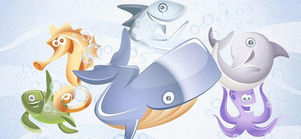 6_vector_aquatic_animals