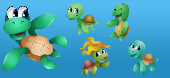 cute-vector-turtle-characters_small_preview