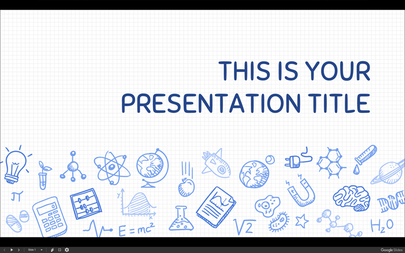 50 free cartoon powerpoint templates with characters illustrations science themed powerpoint template with hand drawn illustrations toneelgroepblik Image collections