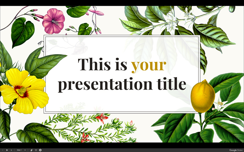 Free Cartoon PowerPoint Templates With Characters Illustrations - Best of flower powerpoint background concept