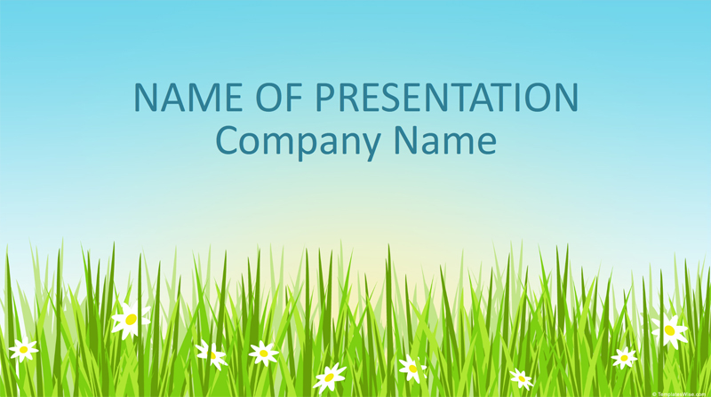 50 free cartoon powerpoint templates with characters illustrations spring illustration powerpoint template toneelgroepblik Image collections