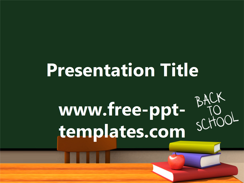 50 free cartoon powerpoint templates with characters illustrations back to school free powerpoint template toneelgroepblik Images