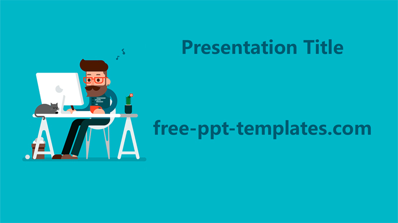 50 free cartoon powerpoint templates with characters illustrations freelancer powerpoint template presentation toneelgroepblik Image collections