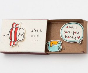 love-you-honey-match-box-card