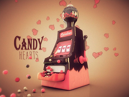 candy-hearts-machine-3d-art