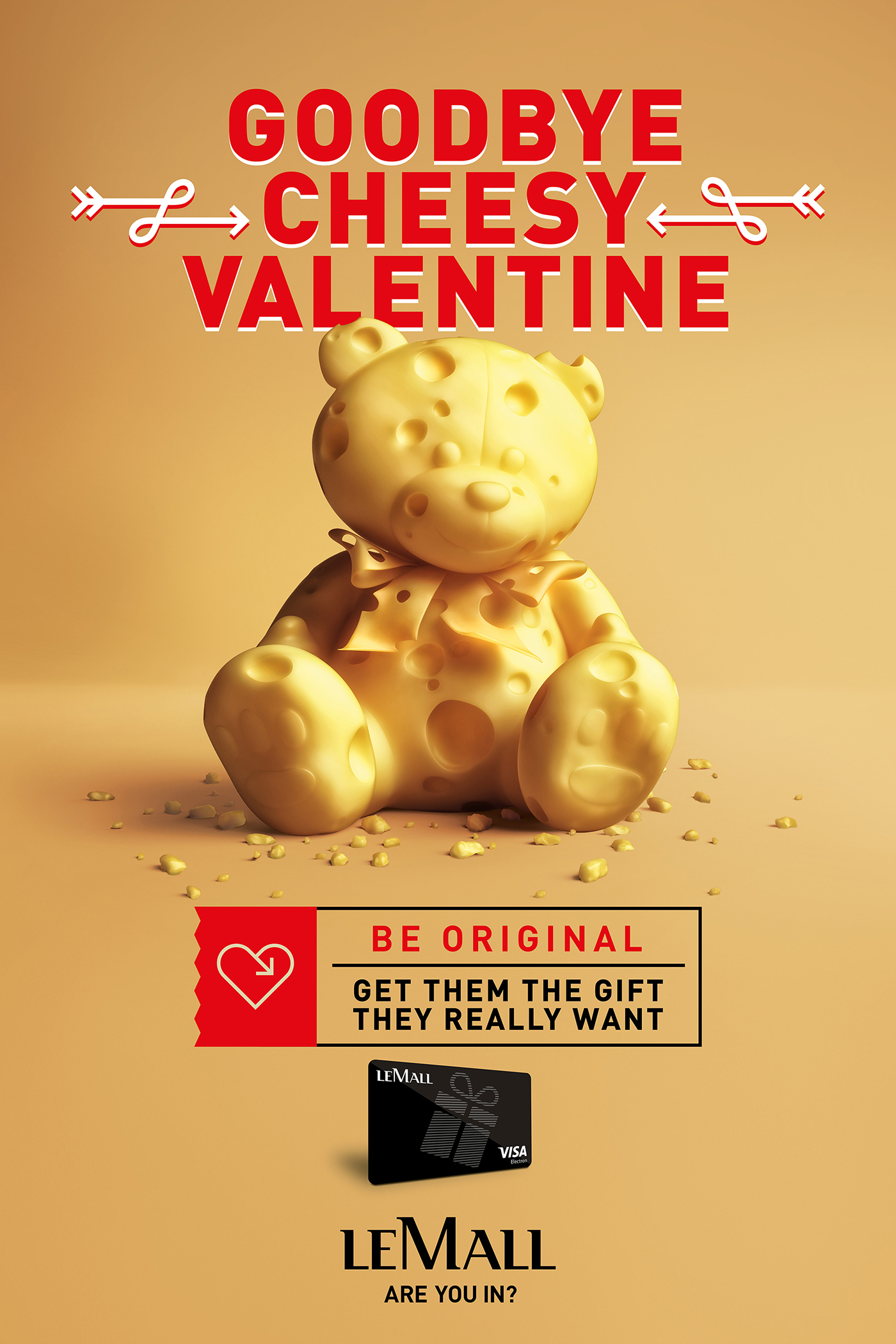 Cheesy Valentine 3D