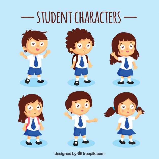 blue-student-characters