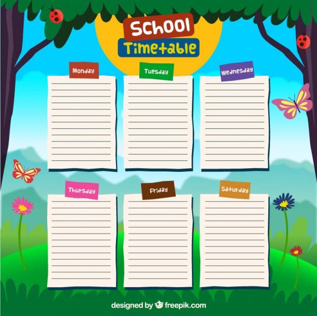 school-timetable-design