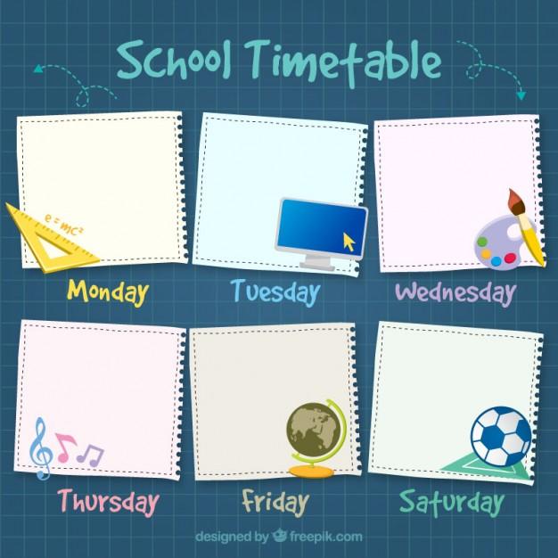 beautiful-school-timetable