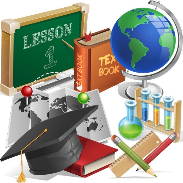 academic-education-graphic-set