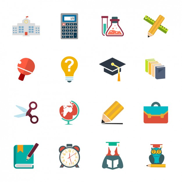 school-icon-collection