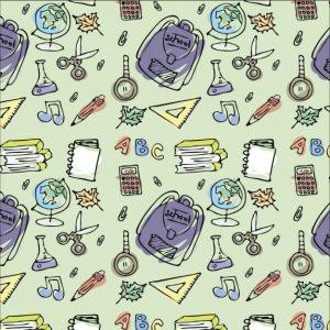 hand-drawn-pattern-of-school