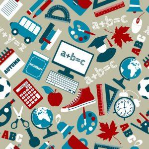 assortment-of-school-supplies-pattern