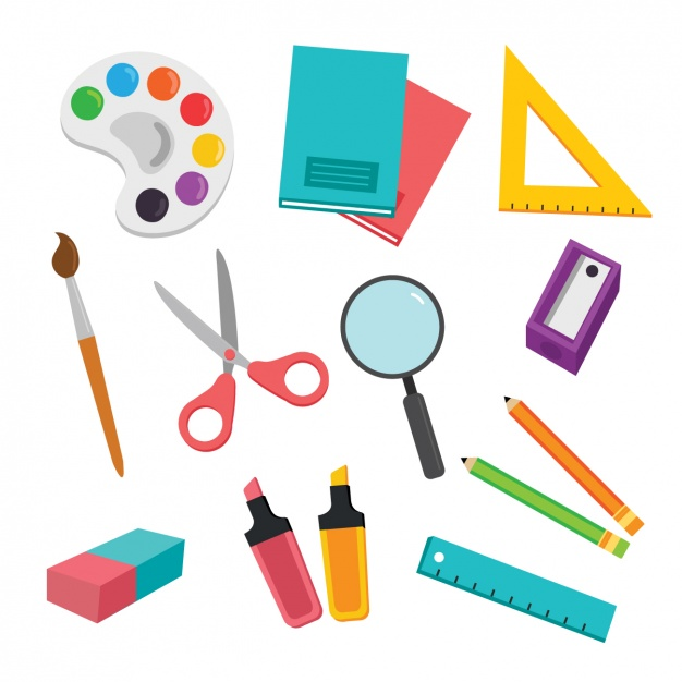 school-elements-collection