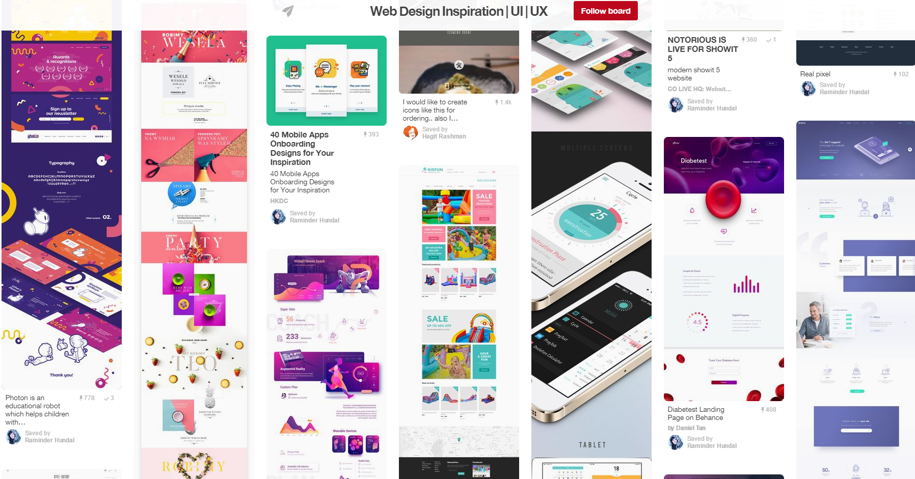 awwwards-pinterest-board