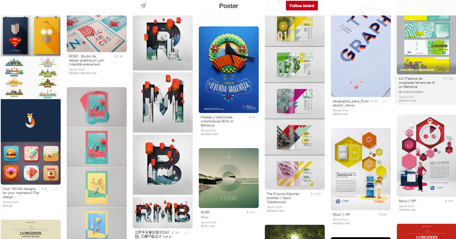 15 inspiring design boards to follow on pinterest graphicmama blog