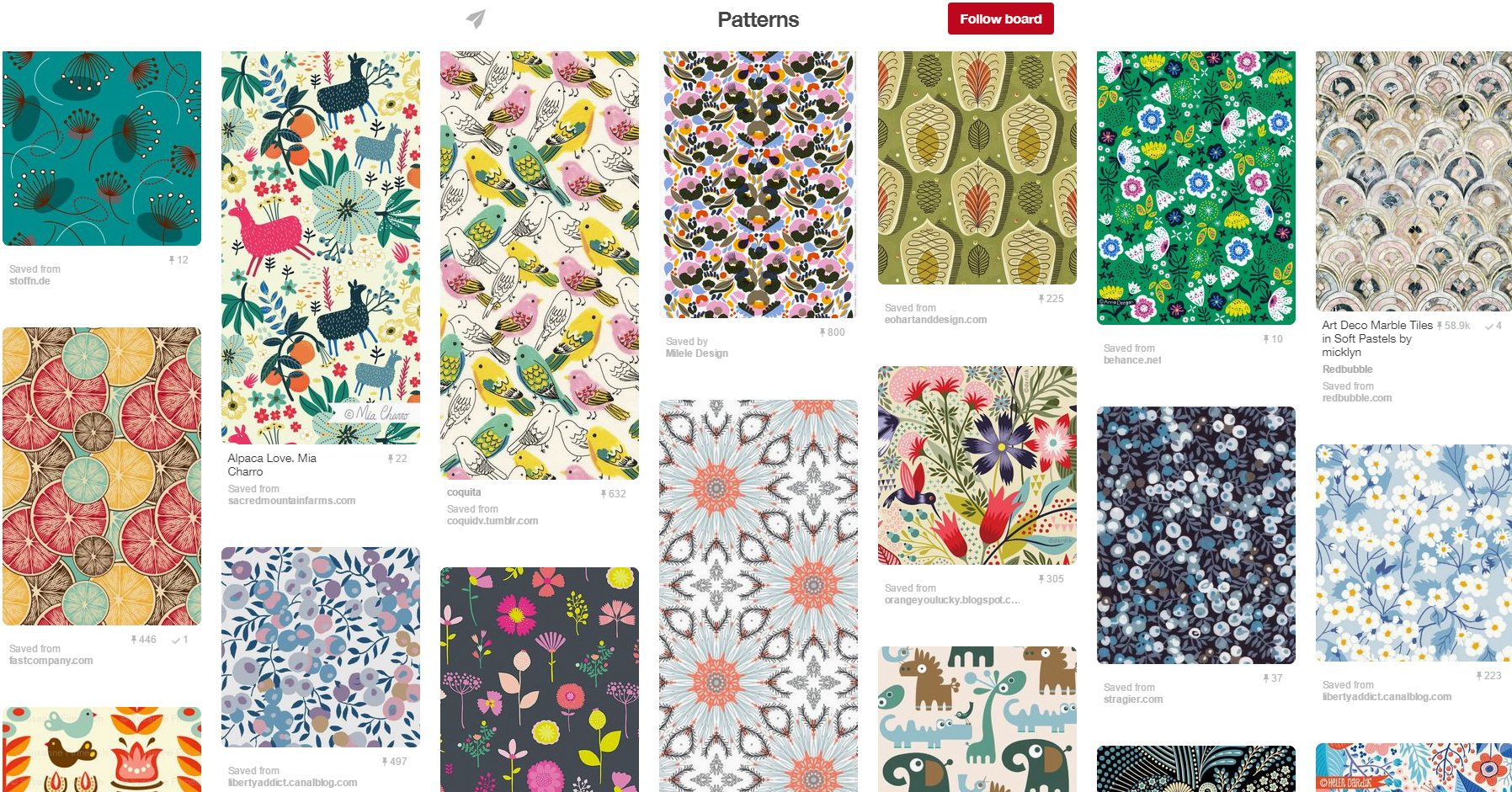 patterns-pinterest-board